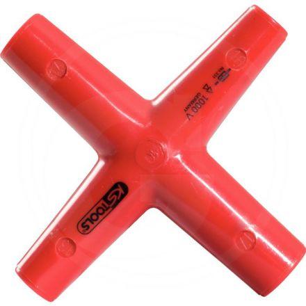 KS Tools Izolowany klucz krzyzak, 11x12x13x17mm