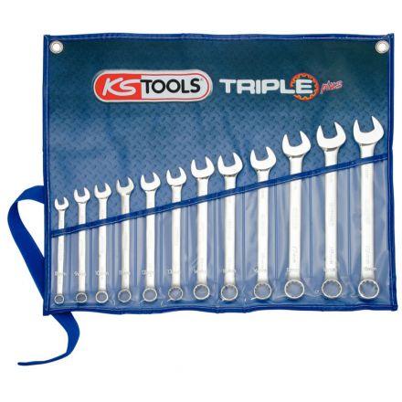 KS Tools Klucz szczękowo-oczkowy -zestawy