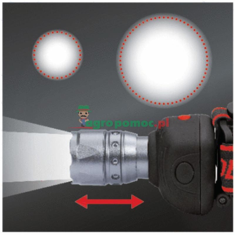 KS Tools LEDMAX CREE Power LED Kompaktowa lampkaz fokusem i bateriami 3 x AAA
