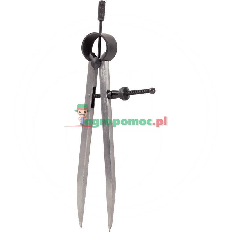 KS Tools Precyzyjny cyrkiel prosty sprezynowy,280mm