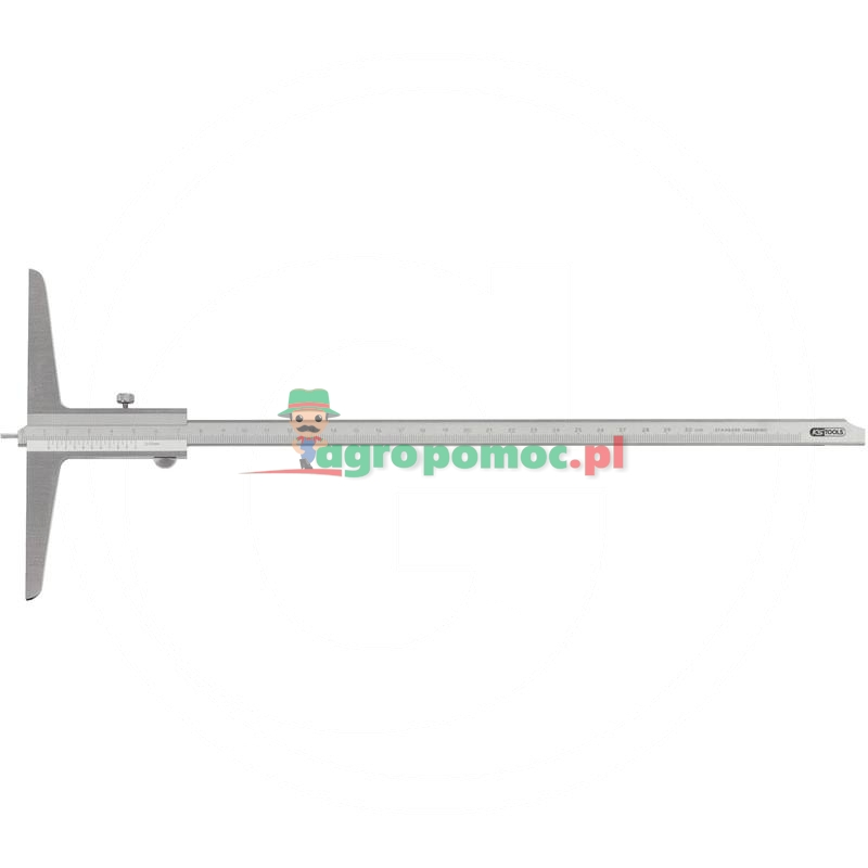 KS Tools Suwmiarka glebokosciowa z kolkiem pomiar 0-300mm