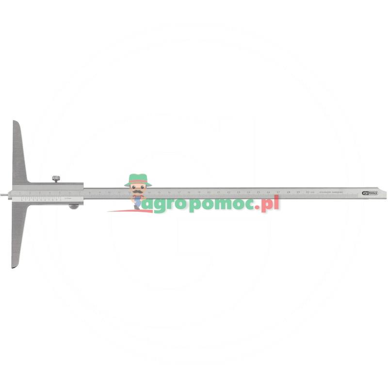 KS Tools Suwmiarka glebokosciowa z kolkiem pomiar 0-500mm