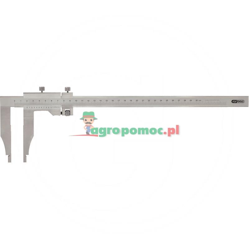 KS Tools Suwmiarka warsztatowa bez szpiców,0-250mm