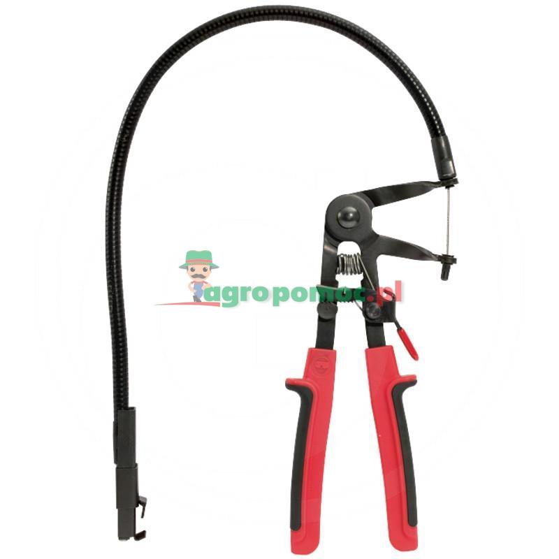 KS Tools Szczypce do sprężynujących opasek zaciskna przewodzie elastycznym