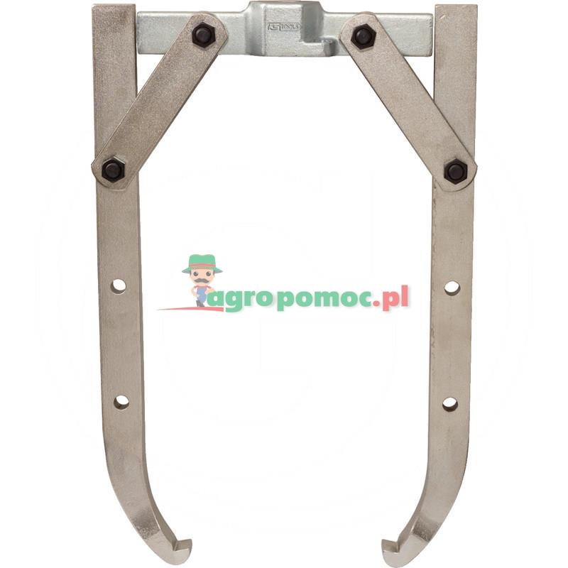 KS Tools Uniwersalny sciagacz 2-ramienny do zast. z cylindrem hydraulicznym, 17t