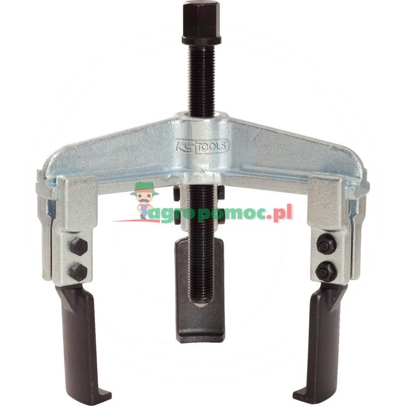 KS Tools Uniwersalny sciagacz 3-ramiennyz waskimi hakami, 50-160mm