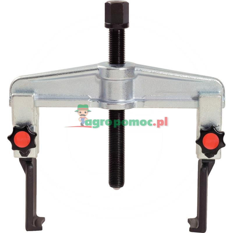 KS Tools Uniwersalny szybkomocujacy sciagacz2-ramienny z waskimi hakami, 50-160mm
