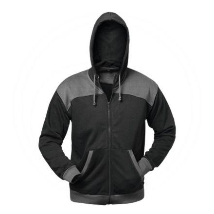 Kurtka sweter czarna/szara