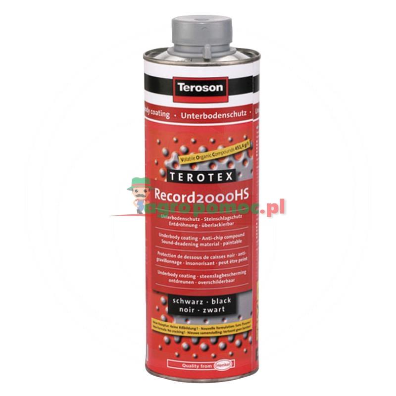 Loctite / Teroson Ochrona podwozia, Teroson Terotex Record 2000 HS,czarny, 1 l