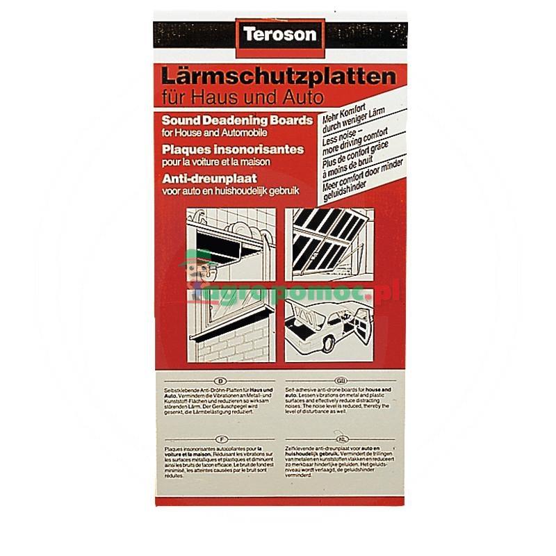 Loctite / Teroson Płyty dźwiękochłonne Teroson, 500x250 mm, opak.6