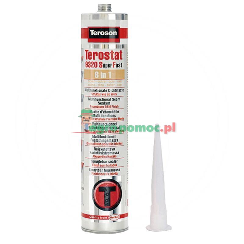 Loctite / Teroson Terostat 9320 SF, uszczelniacz, czarny, 300 ml