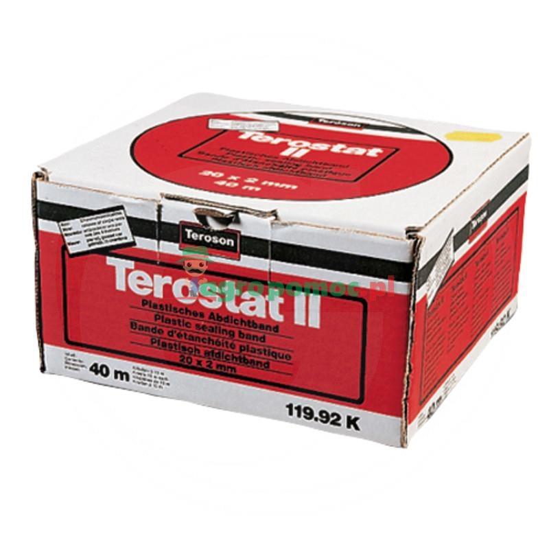 Loctite / Teroson Terostat-II, plastyczna taśma uszczelniająca 20x2 mm, 40 m