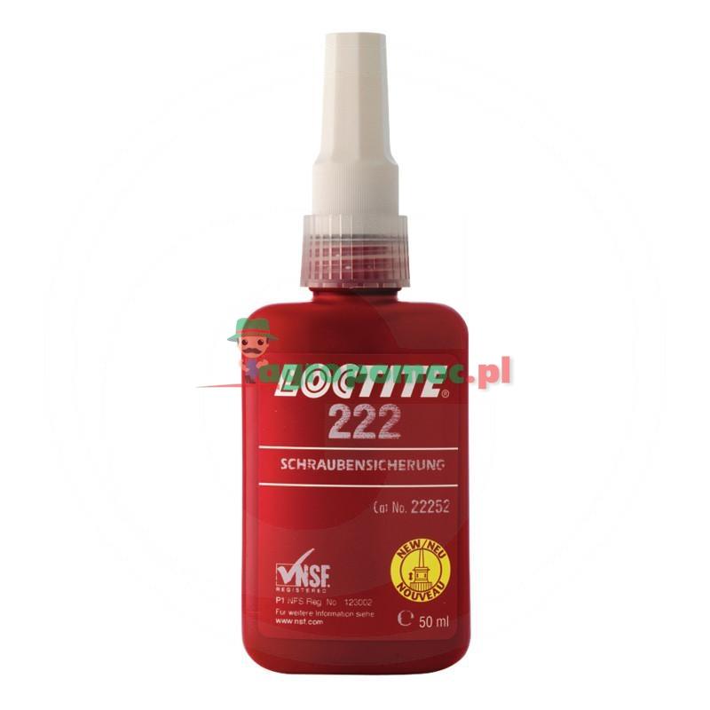 Loctite / Teroson Zabezpieczenie gwintu Loctite 222, 50 ml