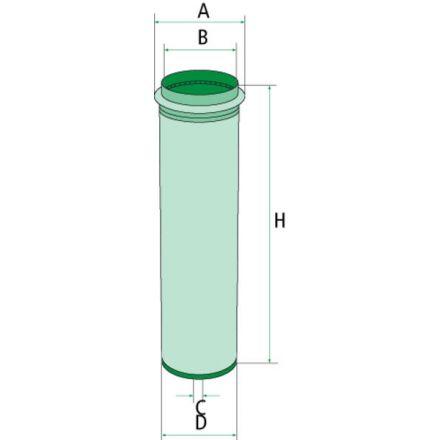 Mann Filter Filtr dokładny powietrza | 3147878R2, 141185190007