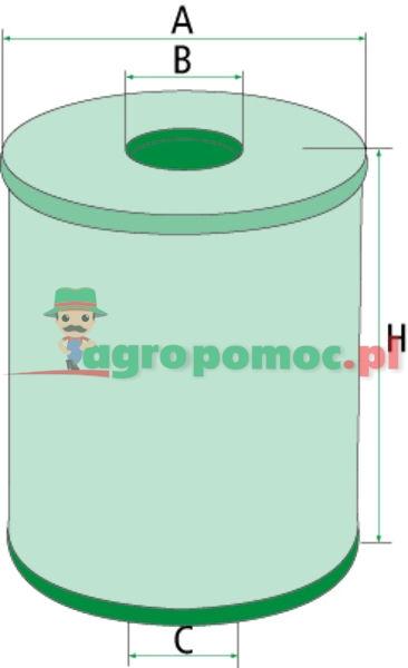 Mann Filter Filtr oleju hydraulicznego/przekładniowego