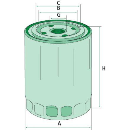 Mann Filter Filtr oleju silnikowego