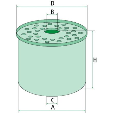 Mann Filter Filtr paliwa | 162000081001