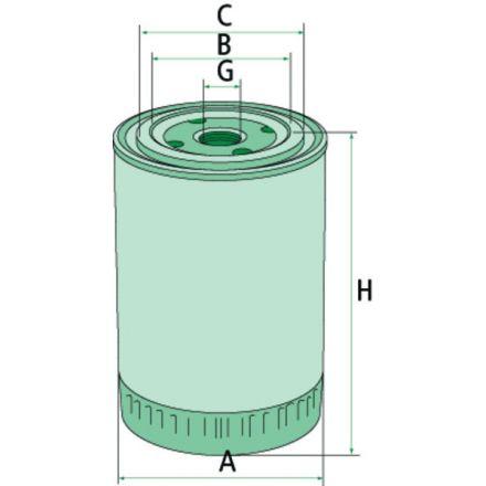 Mann Filter Filtr płynu chłodzącego | A77544