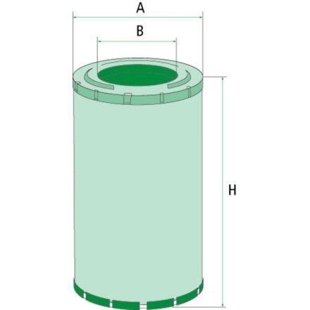 Mann Filter Filtr powietrza | 47128156, 1930589