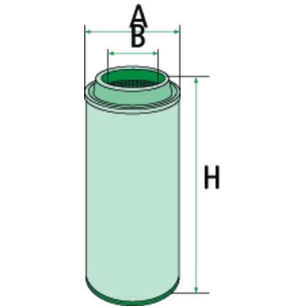 Mann Filter Filtr powietrza | D00043