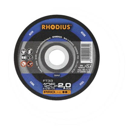 RHODIUS Tarcza do cięcia FT33