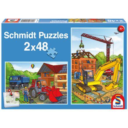 Schmidt Spiele Pojazdy budowlane