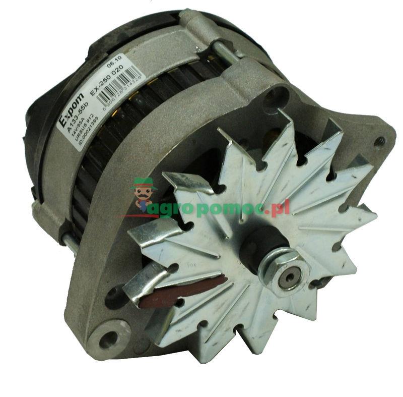 Ursus Alternator A133-55A 14V55A  bez koła pasowego | EX-250 020 EXPOM