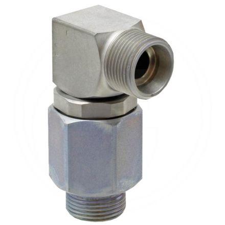 Złącze obrotowe - kolanko 08L x 08L (AG-AG)