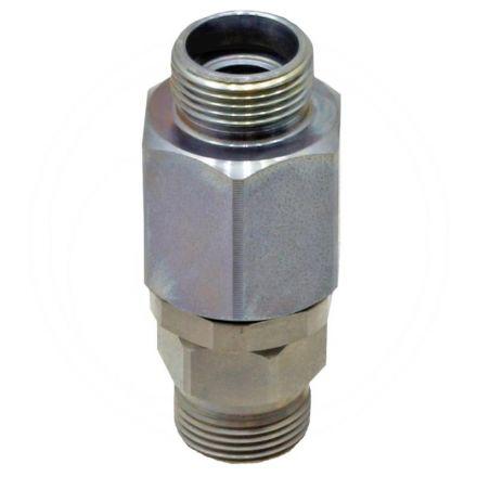 Złącze obrotowe proste 12L x 12L (AG-AG)
